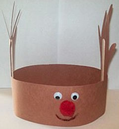 "... the Red Nose Reindeer"", this is great to wear as you all sing along"
