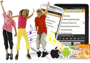 Songs for Kids app