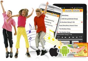 Songs for Kids app