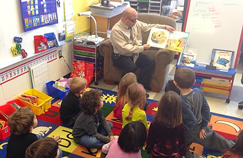 Using a classroom reader with the whole class