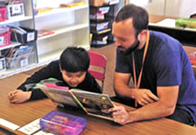 Using classroom readers individually with a teacher