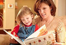 Using classroom readers individually with a parent