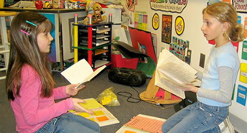 Using classroom readers with small groups