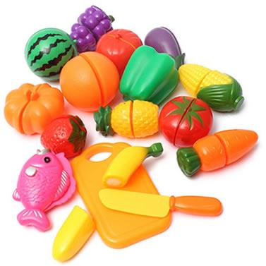 Bag of plastic food