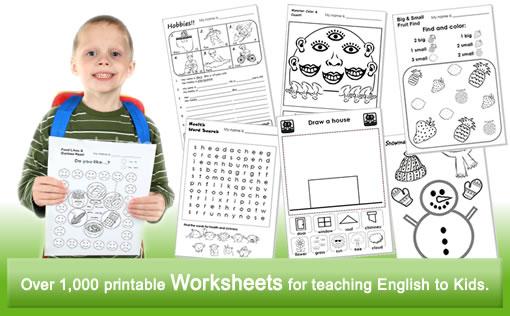 math worksheet : worksheets for teaching esl kids : Teaching Worksheets For Kindergarten