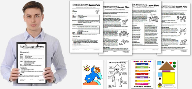ESL Kids Lesson Plans, Worksheets, Flashcards, Songs, Readers, Games