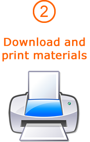 2. Download and print materials
