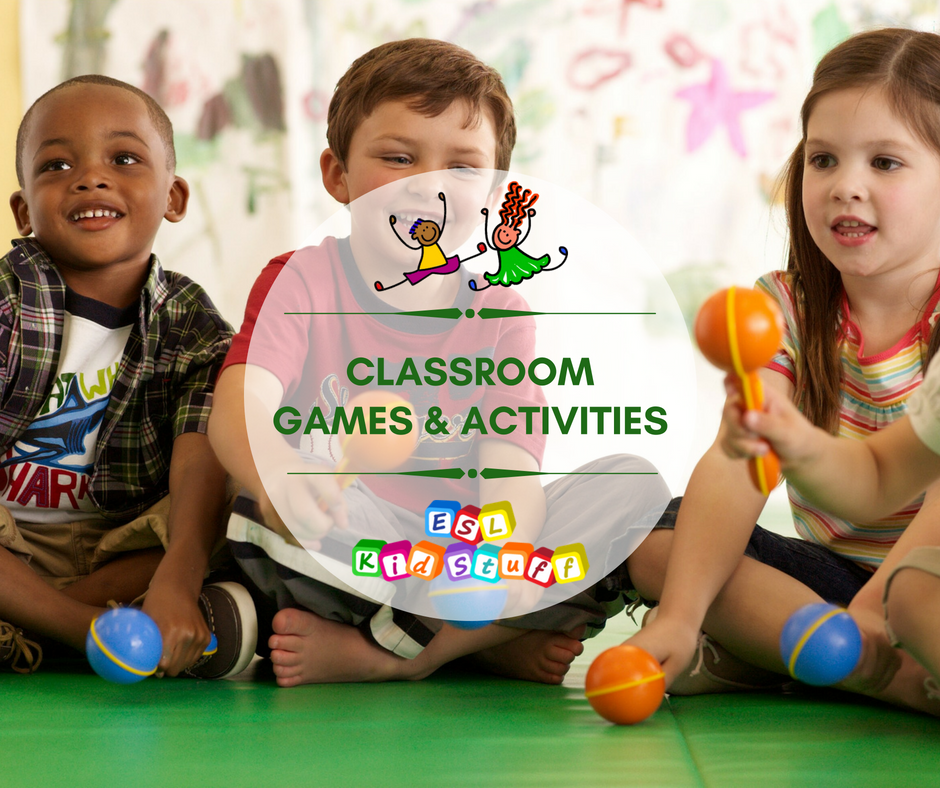 ESL Kids Classroom Games & Activities