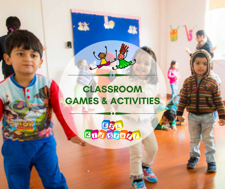 Esl Kids Games Activities