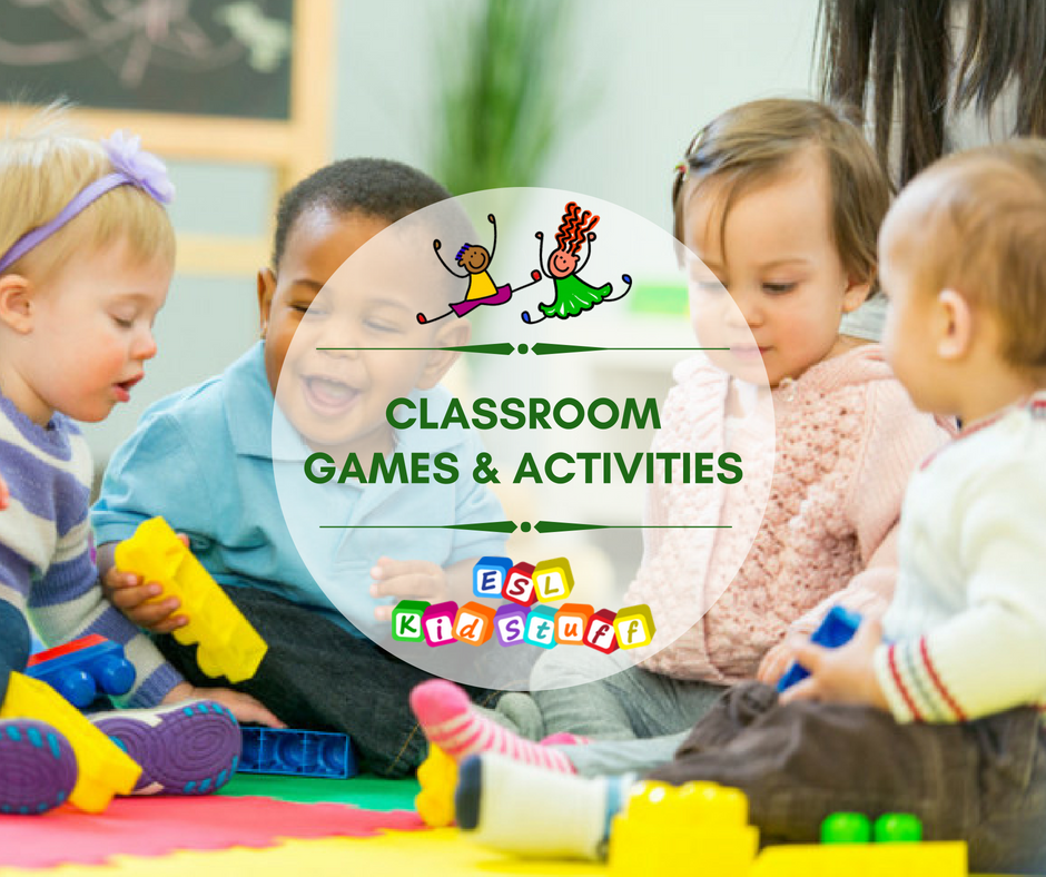 Vocabulary Games & Activities for ESL Kids