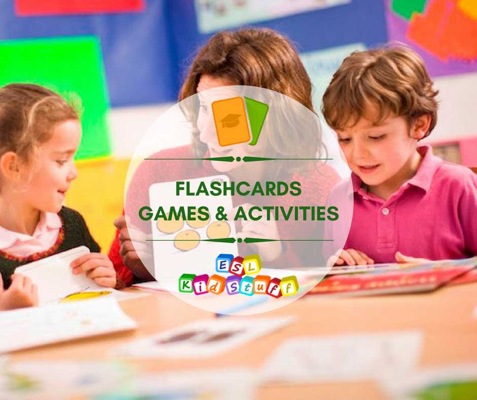 Young Kids Are Being Shuffled From One Activity To Another In >> Esl Kids Flashcard Games Activities