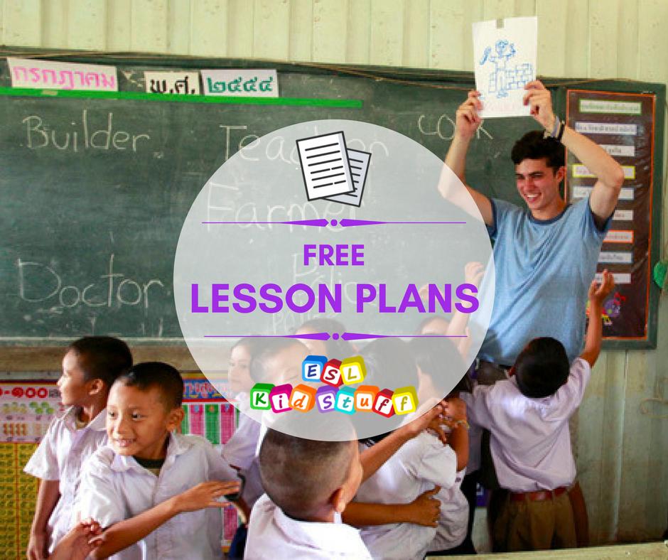 Lesson Plans for ESL Kids Teachers