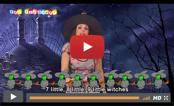 One Little, Two Little, Three Little Witches